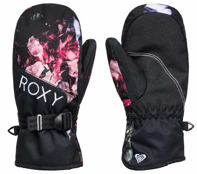 Roxy Jetty Girls Mitts Black
