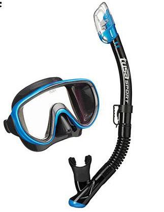 Tusa Serene Mask & Snorkel Blue