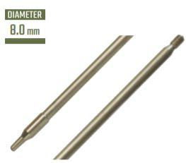 Cress Inox Threaded Pneumatic 8mm Shaft