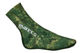 Mares Camo Green 3mm Fin Sox