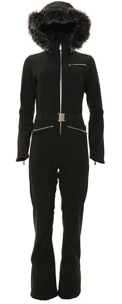 XTM Cortina One Piece Suit Black