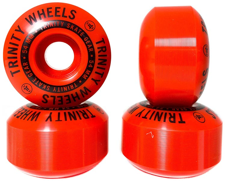 Trinity Red Wheels 54mm