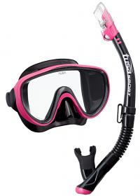 Tusa Serene Mask & Snorkel Pink