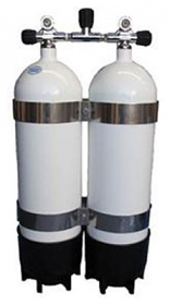 Faber Twin Steel Cylinders 200cft 12.2ltr