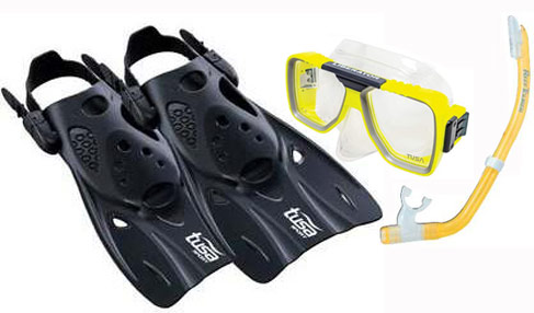 Tusa Liberator RT Mask & UF0103 Fin Set