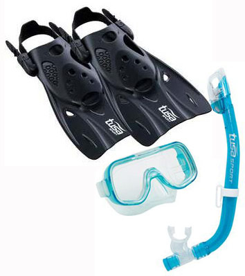 Tusa Mini Kleio Hyperdry Elite Kids Fin set