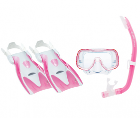 Tusa Mini Kleio Youth Silicone set Pink
