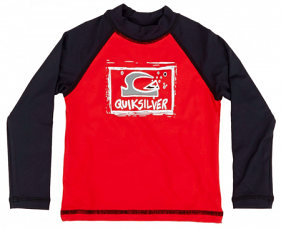 Quiksilver Kids Bubble Dream L/S Red