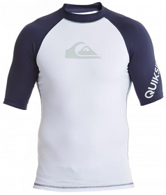 Quiksilver Mens All Time S/S Navy