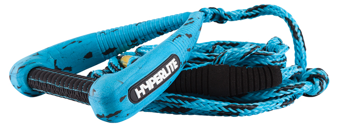Hyperlite 25' Pro Surf Rope & Handle Blue