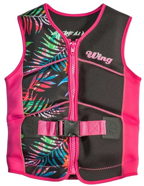 Wing Realm Jnr L50S Neo Vest Pink