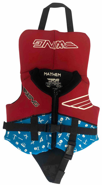 Wing Mayhem Infant L50 Red 1-2