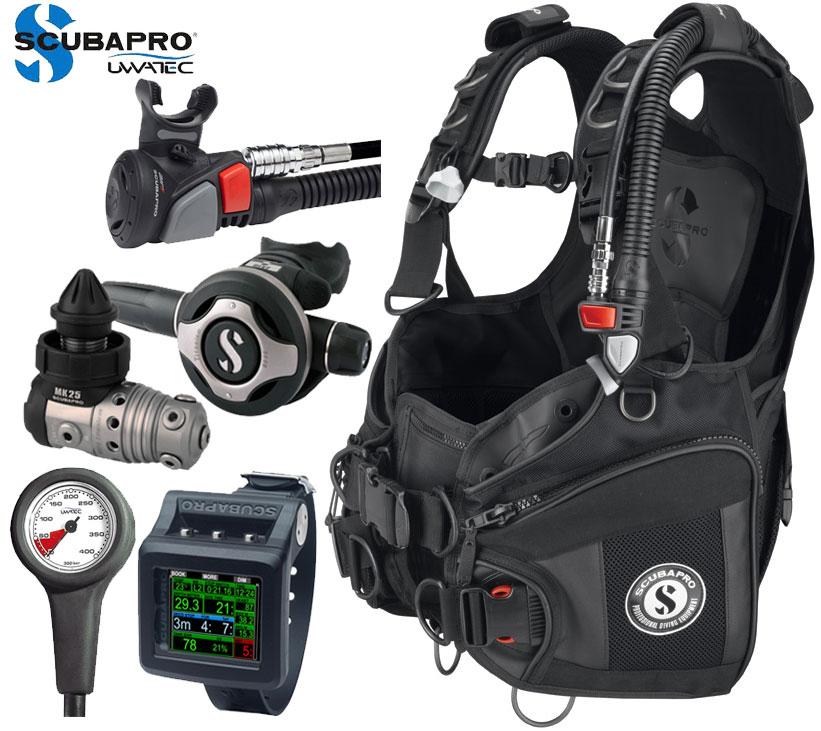 Scubapro X-Black Premium Package
