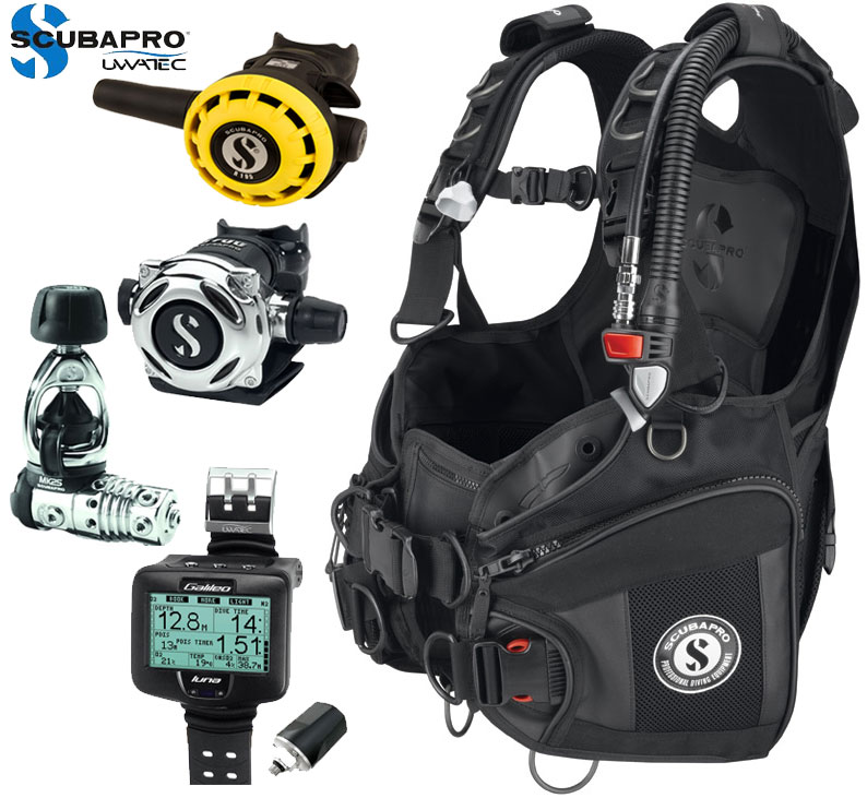Scubapro X-Black BCD Package