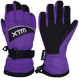 XTM Swoosh Glove Purple '17
