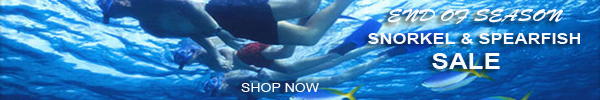 Snorkeling and spearfish end of season sale