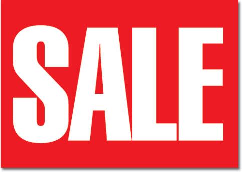 on sale logo